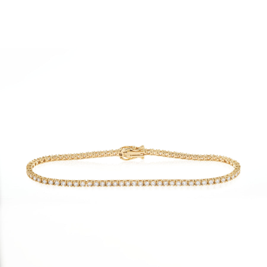 The5thC_Bracelets_Isabel_18k yellow gold diamond round brilliant diamonds