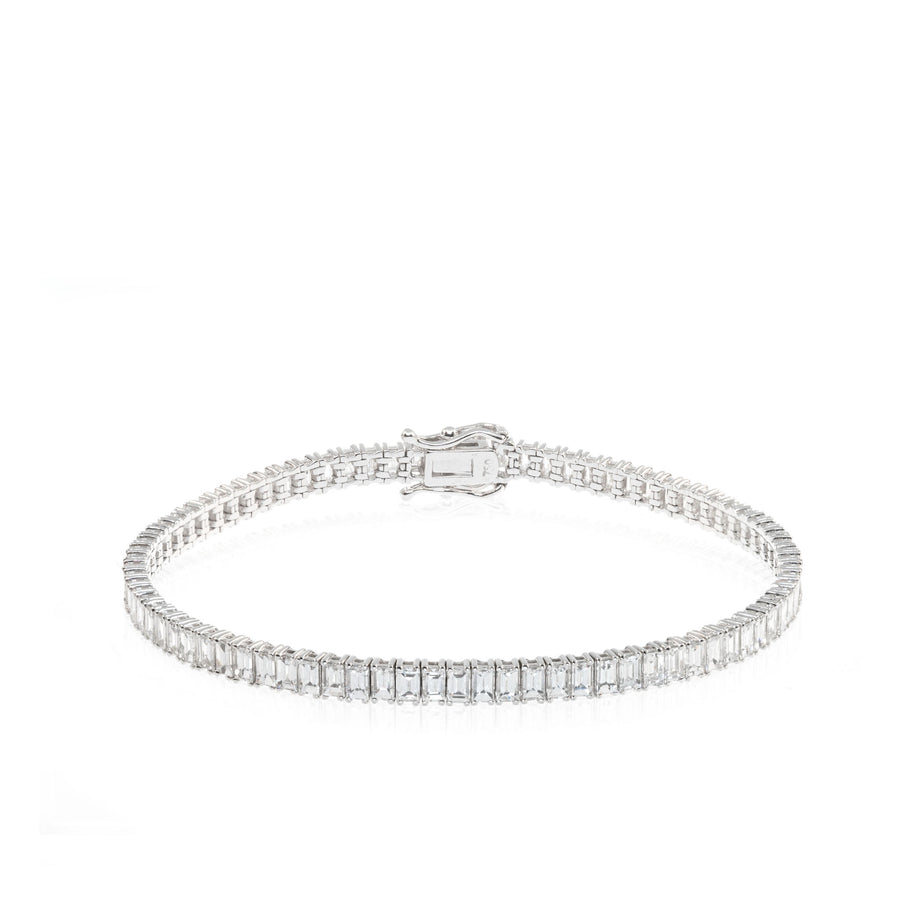 The5thC_Bracelets_Vincy_18k white gold diamond round brilliant diamonds
