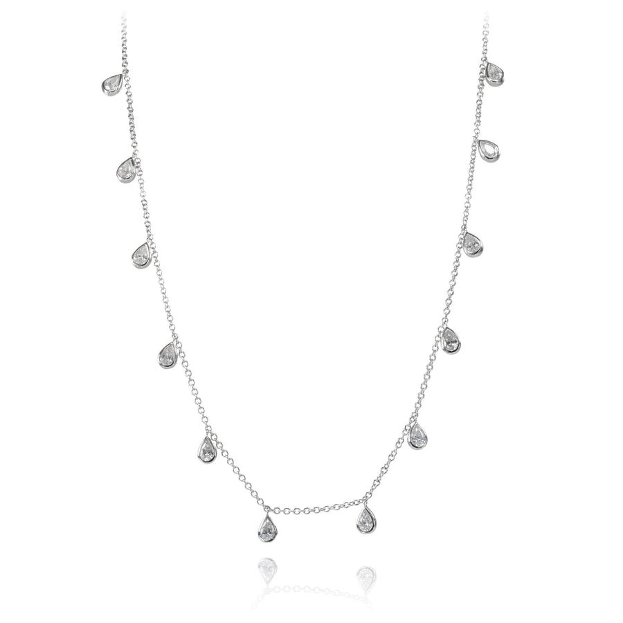 The5thC_Necklace_Bella_18k white gold diamond round brilliant diamonds