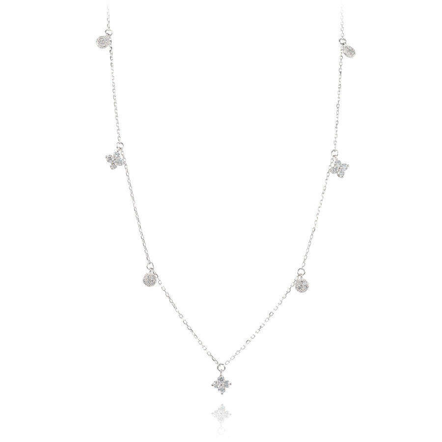 The5thC_Necklace_Ricole_18k white gold diamond round brilliant diamonds