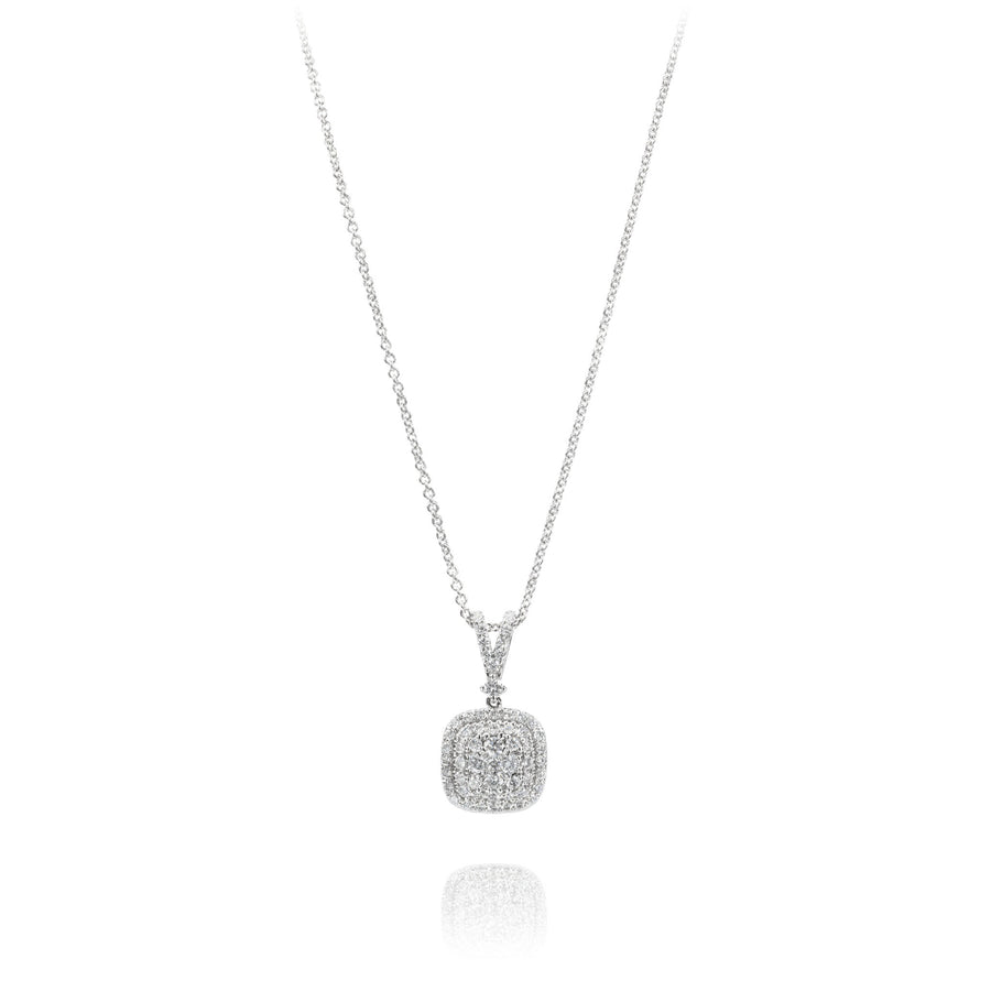 The5thC_Necklace_Sophia_18k white gold diamond round brilliant diamonds