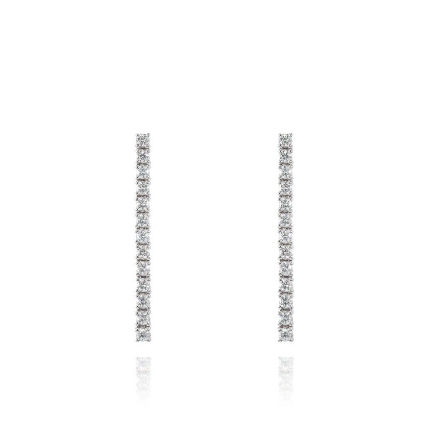 The5thC_Earrings_Julia_18k white gold diamond round brilliant diamonds