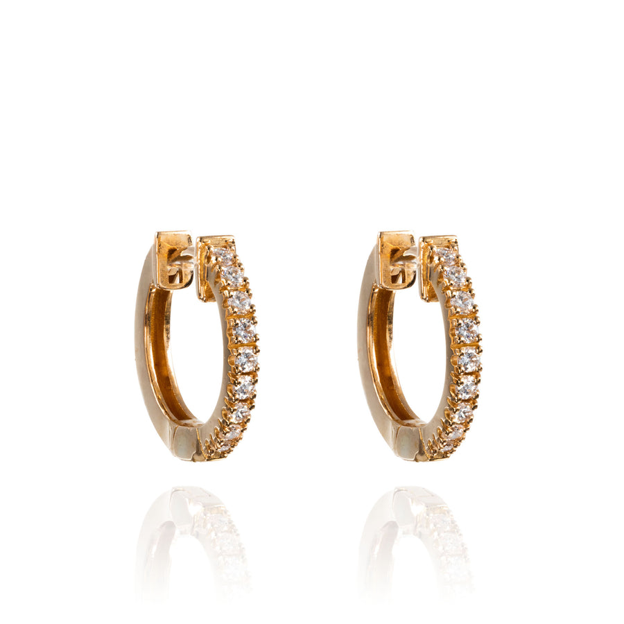 The5thC_Earrings_Kim_18k rose gold diamond round brilliant diamonds