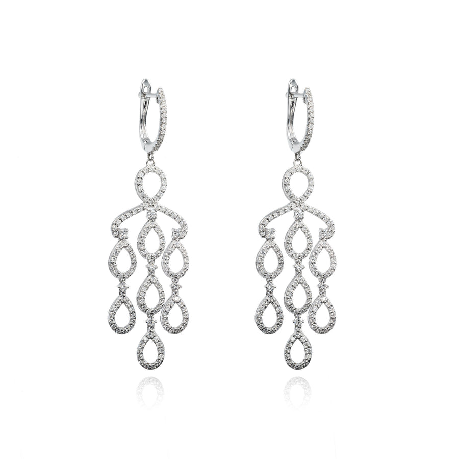 The5thC_Earrings_Madison_18k white gold diamond round brilliant diamonds