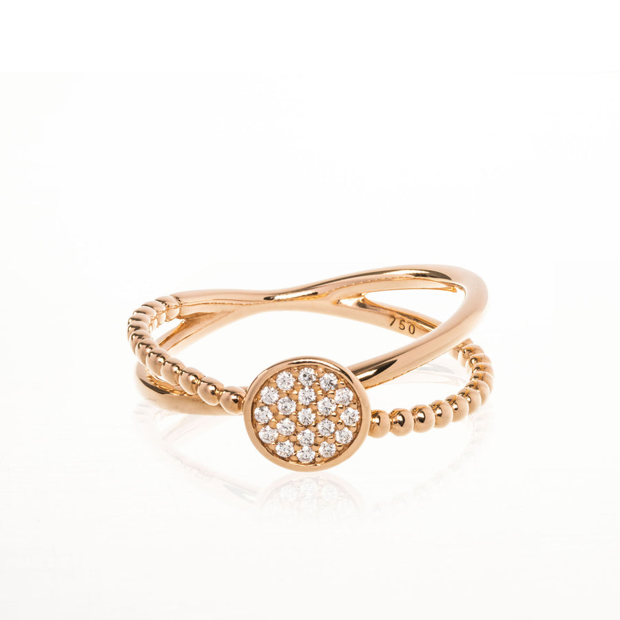 The5thC_Ring_Nova_18k rose gold diamond round brilliant diamonds