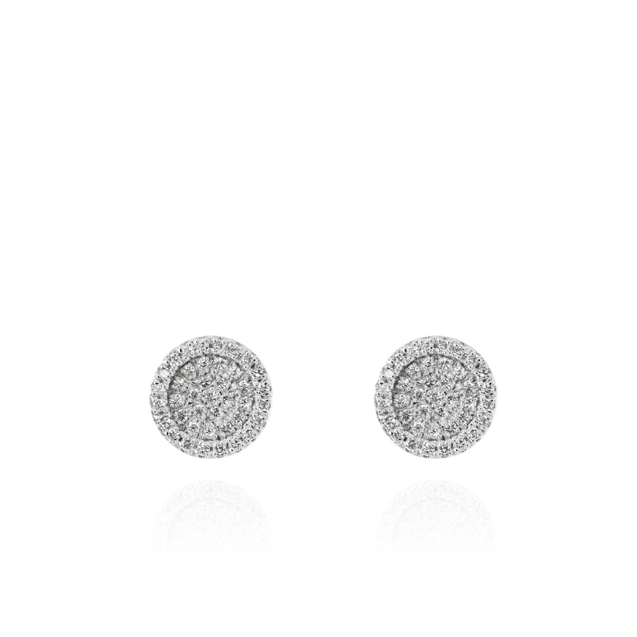 The5thC_Earrings_Quinn_18k white gold diamond round brilliant diamonds