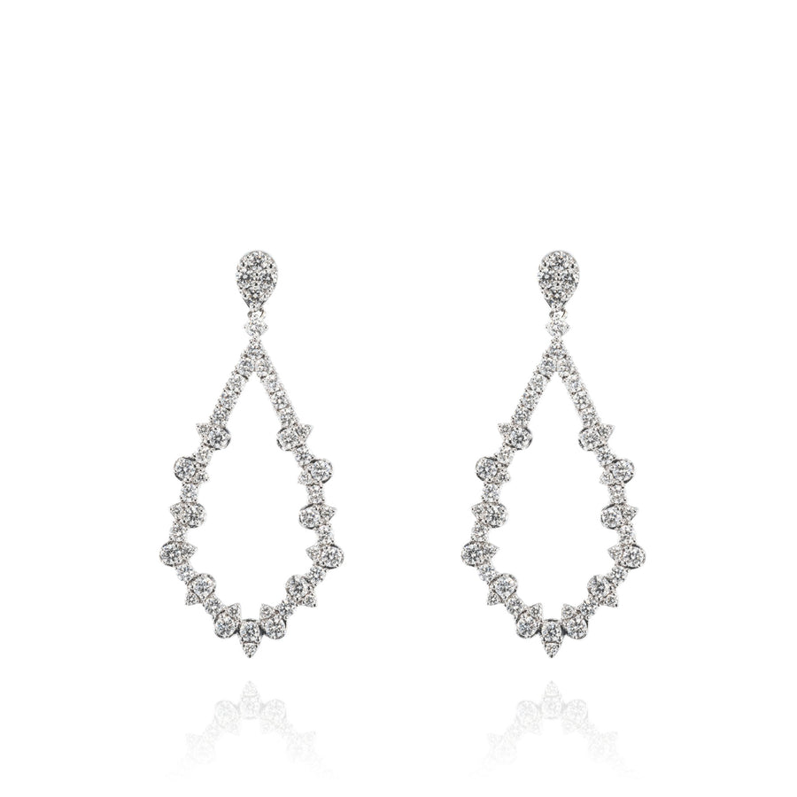 The5thC_Earrings_Valentina_18k white gold diamond round brilliant diamonds