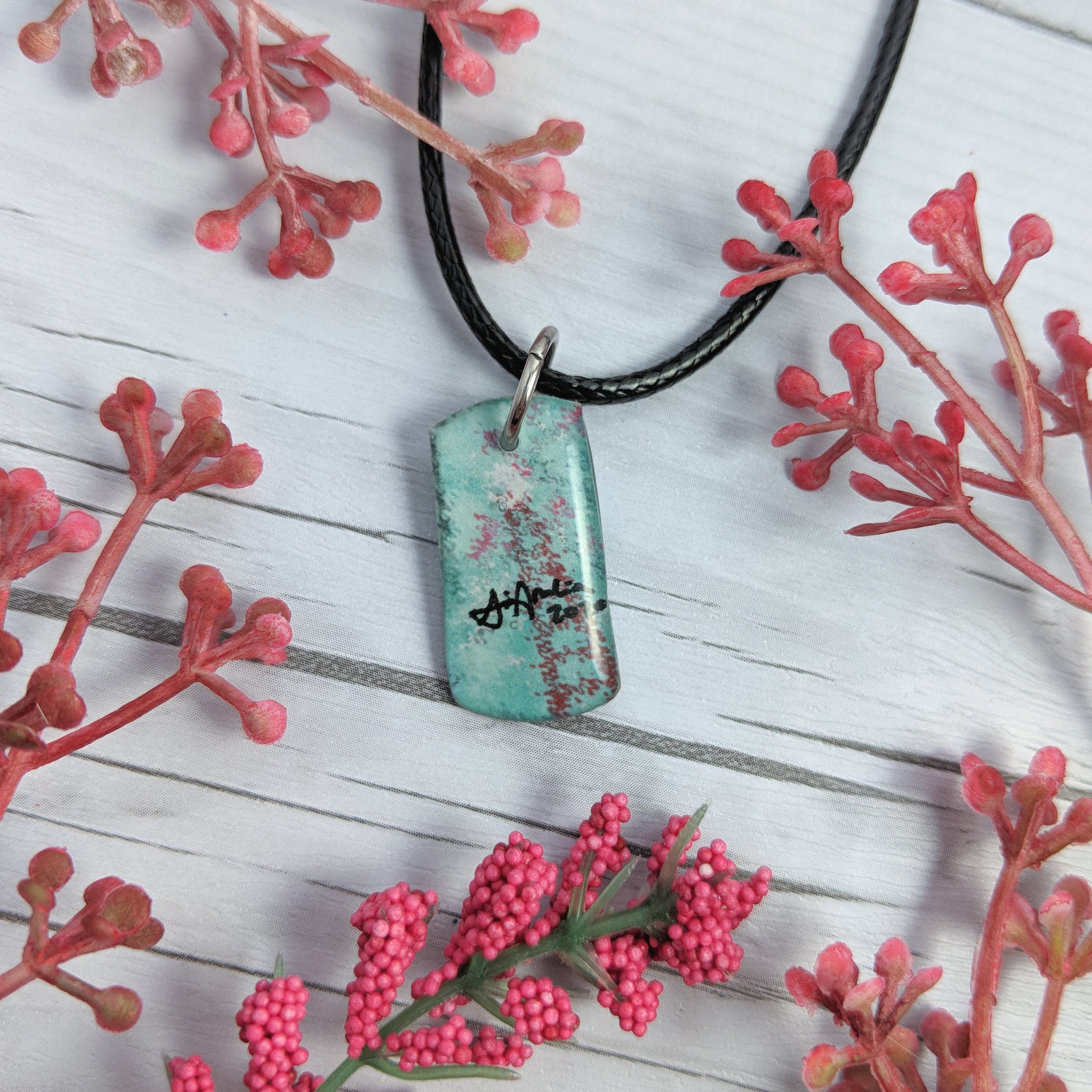 Lil blue Ladder Pendant Print