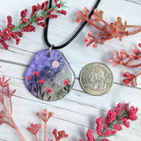 Roses Along the Way Pendant Print