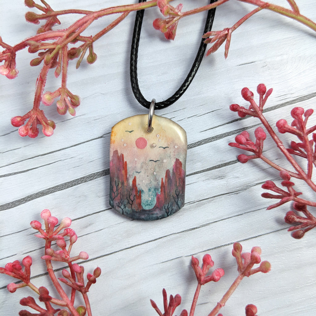 In the Valley Pendant Print