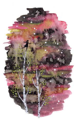 """Tree Climber"" Wall Art **PRINT**"
