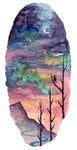"""Rainbow Tree Climber"" Wall Art **PRINT**"