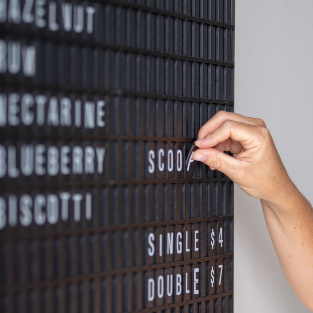 Departures Board - magnetic letter board display, old timetables at airport and train terminals.