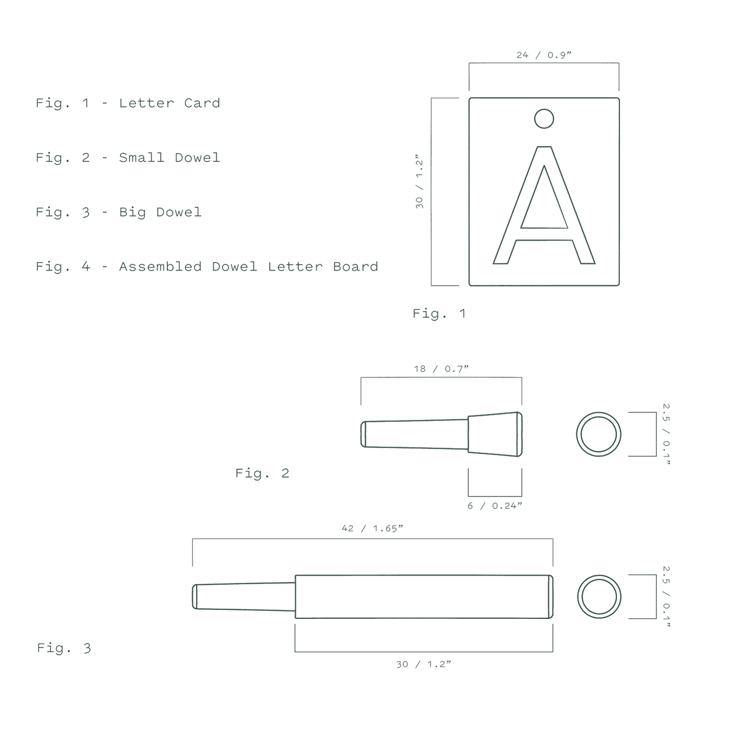 The Dowel Board Specifications
