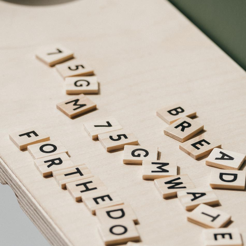 Scrabble anyone?
