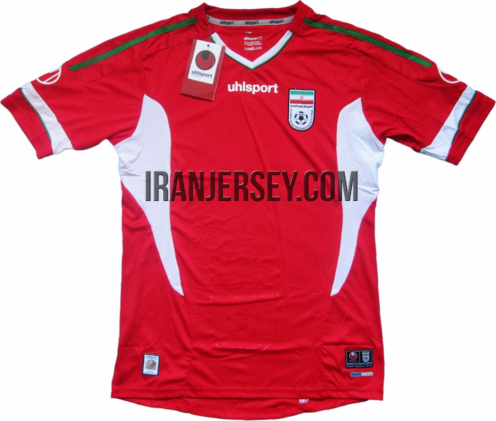brand new 557ea 34506 Iran National Team Replica Red Kit - World Cup qualification ...