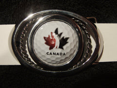 Golf Canada - Golf Ball Buckle