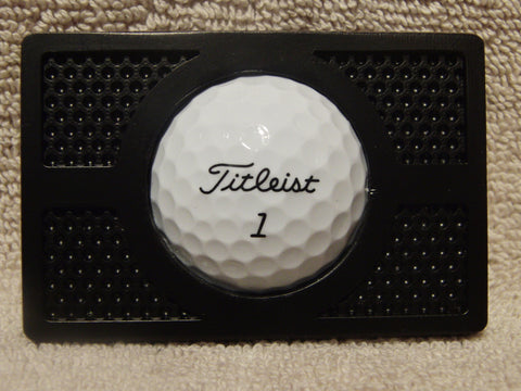 Golf Ball Buckle - Matte Black Finish