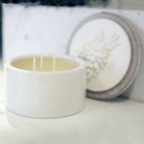 Pinewook Scented Ceramic Candle