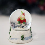 Glass Christmas Snowball