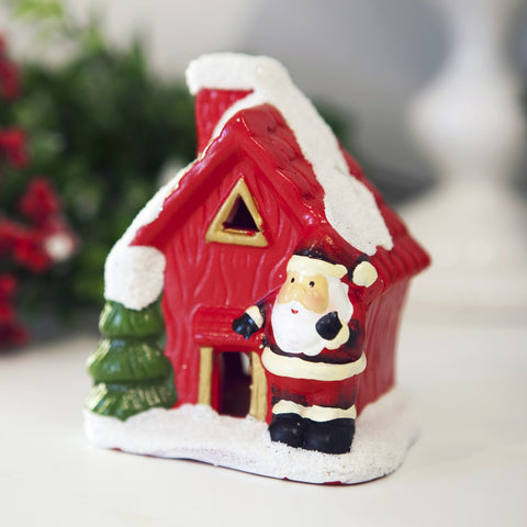 Santa Claus Home Tealight Holder