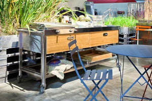 Cooking In the open air – how to arrange your outdoor kitchen?