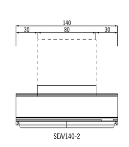 ELECTRONIC EXTRACTOR HOOD SEA/140-2