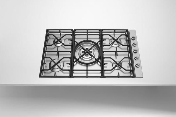BUILT-IN HOB WITH CAST IRON GRID 5698/4GTC-CL