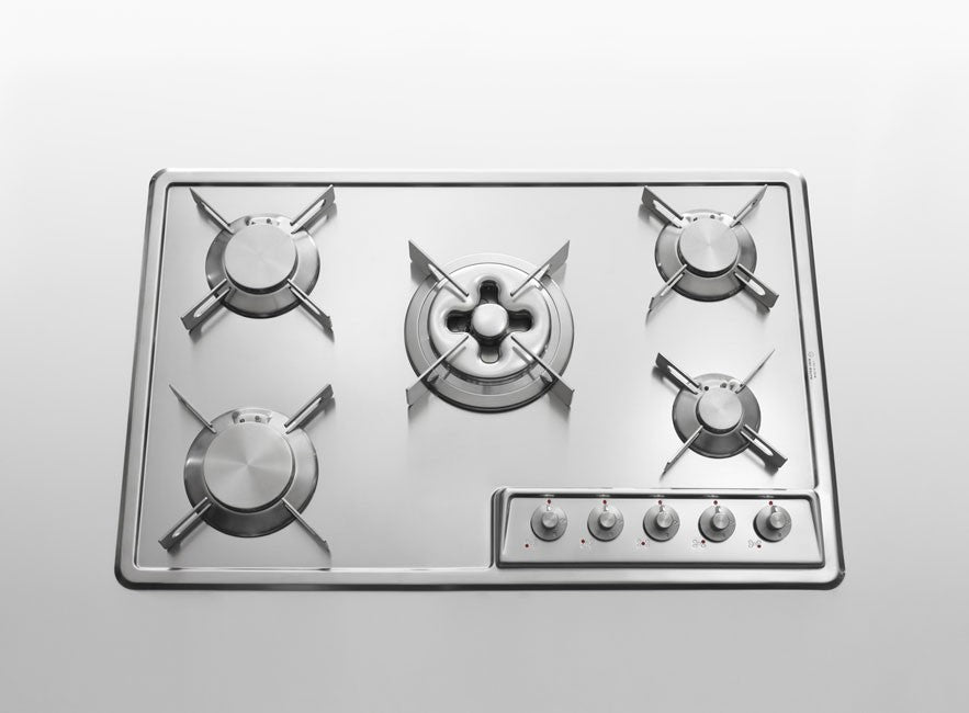BUILT-IN STAINLESS STEEL HOB - F 579/4GTC