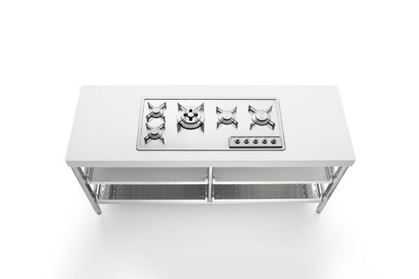 BUILT-IN STAINLESS STEEL HOB F 499/4GTC