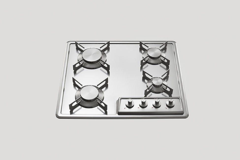 BUILT-IN STAINLESS STEEL HOB - F 559/4G