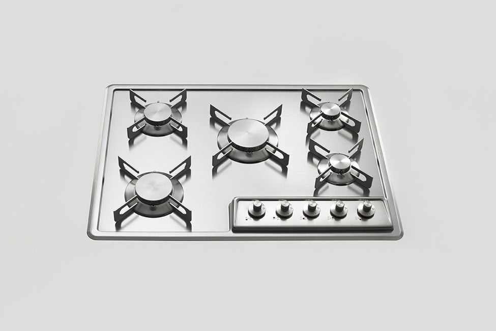 BUILT-IN STAINLESS STEEL HOB - F 569/5G