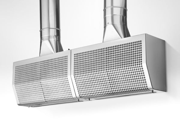 CONCEALED EXHAUST SYSTEM WITH TWO POWERED EXHAUST FANS - GA 20/55