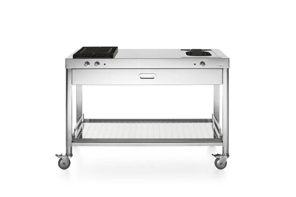 OUTDOOR KITCHEN UNIT 130 – GRILL AND DEEP-FAT FRYER