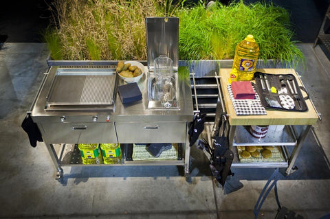 OUTDOOR KITCHEN UNIT 130 – PLANCHA AND DEEP-FAT FRYER