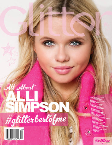 ALLI SIMPSON #GlitterBestOfMe© Exclusive MagBook