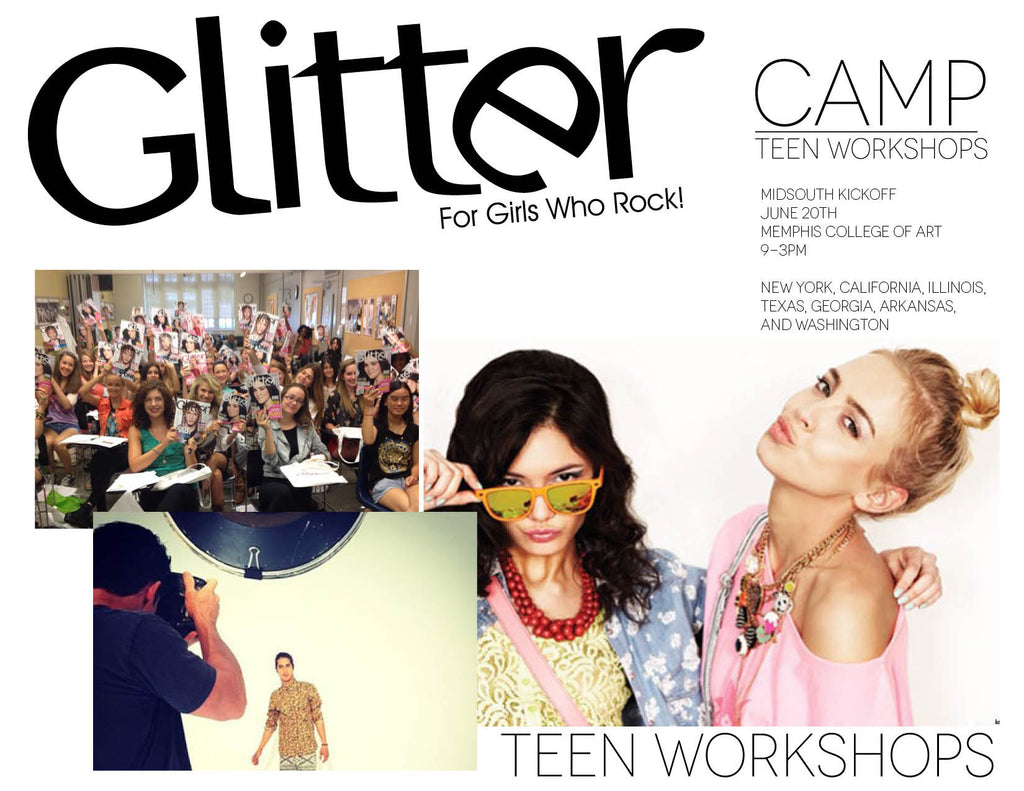 Glitter Camp Workshop: Memphis, Tennessee 6/20/15