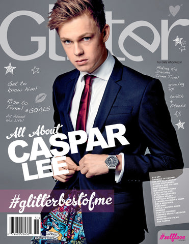 Caspar Lee #GlitterBestOfMe© Exclusive MagBook