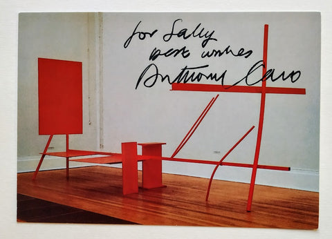 Sir Anthony Caro - 'Early One Morning' Postcard Signed by the Artist Sir Anthony Caro