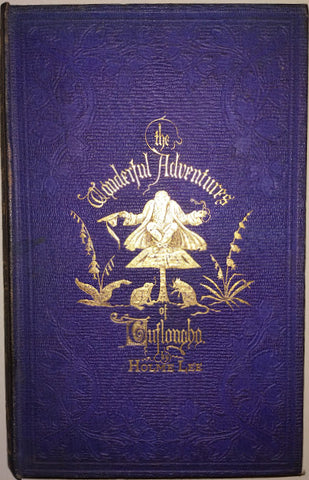 Holme Lee - LEIGHTON BINDING: The Wonderful Adventures Of Tuflongbo And His Elfin Company by Holme Lee, 1861