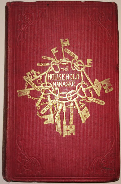 The Household Manager Being A Practical Treatise Upon The Various Duties In Large Or Small Establishments by Charles Pierce, 1857.