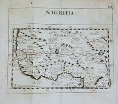 Pierre Duval - West Africa, Guinea & the Sahara Desert: Nigritia by Pierre Duval, 1694