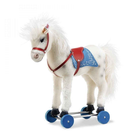 Margarete Steiff - Steiff Olivia Horse on Wheels: 006814 Size 43cm Tall Limited Edition of 500
