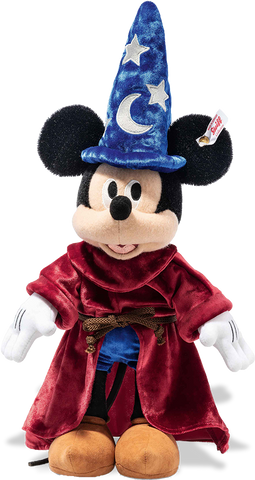 Margarete Steiff - Steiff Mohair Disney Sorcerer's Apprentice Mickey Mouse 354397: Size 30cm Tall Limited Edition of 1940