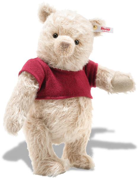 Steiff A A Milne: Christopher Robin: Winnie The Pooh: 355424 Size 30cm Tall Limited Edition of 4000