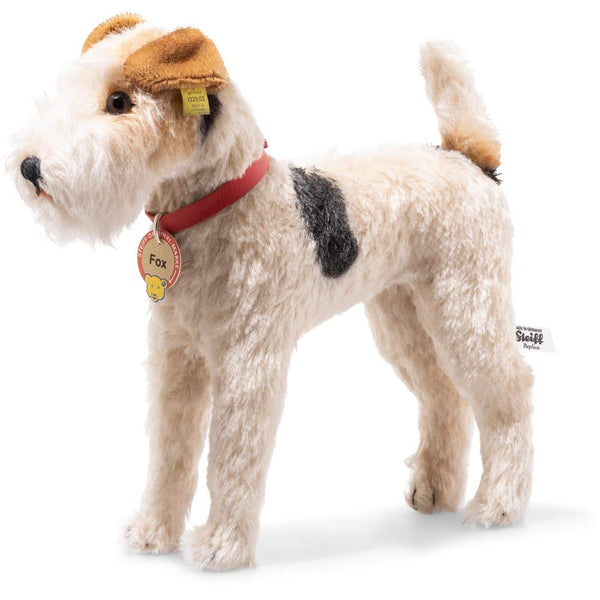 Steiff Mohair 1937 Replica Fox Terrier: 403378 Size 29cm Tall Limited Edition of 937