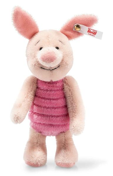 Steiff A A Milne: Christopher Robin: Piglet: 683657 Size 16cm Tall Limited Edition of 2000