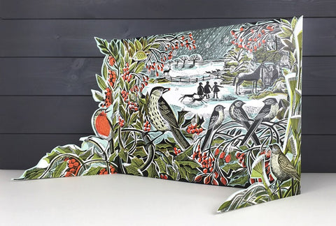 Angela Harding - Holly Hedge Advent Calendar by Angela Harding