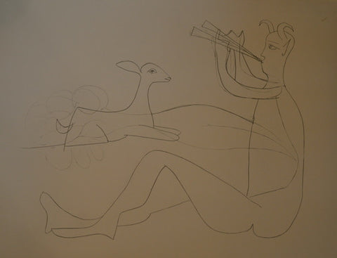 Pablo Picasso - Mes Dessins D'Antibes: II