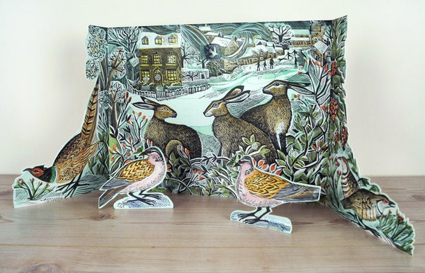 We Three Hares Advent Calendar by Angela Harding